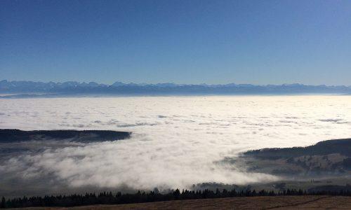 Chasseral - Nebelmeer