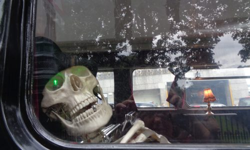 Ghost bus - Edinburgh