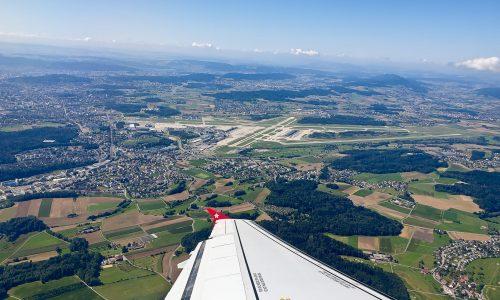 Take Off Flughafen Zürich